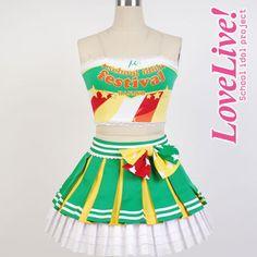Koizumi Hanayo Lovelive school idol project μ's Cheerleaders Cosplay Full set