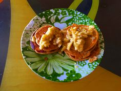 This is one of my FAVORITE 21 day fix breakfast recipes. Protein pancakes. For the full recipe click the link: http://www.marissafmyers.com/uncategorized/easy-breakfast-recipe-protein-pancakes/