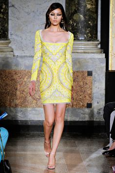 Emilio Pucci Spring'12 - I can't tell if there's beading on this, but it's furiously red-carpet ready