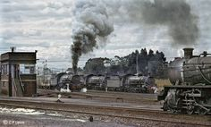 Cape Town-Kraaifontein-Malmesbury-Bitterfontein by C P Lewis © - Soul of A Railway