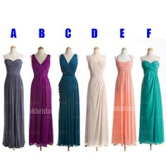 chiffon bridesmaid dresses, cheap bridesmaid dress, prom dress bridesmaid, chiffon bridesmaid dress, Long bridesmaid dresses, 16330 sold by OkBridal. Shop more products from OkBridal on Storenvy, the home of independent small businesses all over the world.