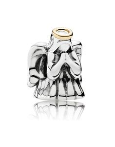 Embodying the charisma of divine angels, this guardian angel charm from the PANDORA 2015 Winter collection comes complete with a yellow gold halo. Give this protective charm to a loved one as it is sure to be treasured all year round. Pandora Gold, Pandora Rings, Pandora Jewelry, Pandora Bracelet Charms, Charm Bracelets, Moon Jewelry, Silver Charms, Charmed, Gifts