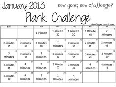 A whole month of planks?! I'm in.