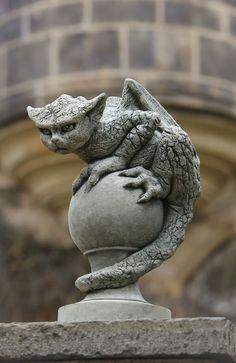 Oscar, unique gargoyle statuary
