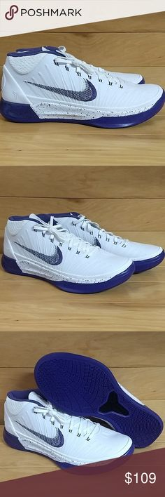 f66b321499db7 Nike Kobe AD Basketball Shoe Purple 922482 100 Brand New. With Box. Great  quality