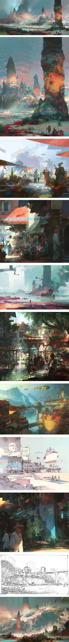 Concept art by Theo Prins