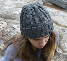 Ravelry: Cables & Twists Hat pattern by Michelle Krause