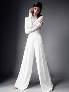 Oversized pants. I could make, with elastic waist band and not in white Ideal not a tutorial