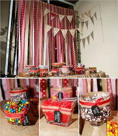 buffet de sucrerie