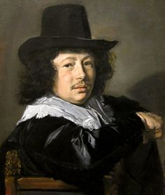 -frans hals | Portrait of a Young Man
