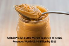 According to a new report by Expert Market Research, global peanut butter market reached sales worth US$ 3 Billion in 2015 and is further expected to reach revenues worth US$ 4 Billion. To request a sample copy or view summary of this report, click on the link below: http://www.expertmarketresearch.com/request?type=report&id=50&flag=B #peanut #butter