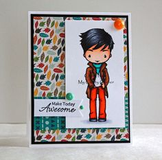 Make Today Awesome by Chitra - Cards and Paper Crafts at Splitcoaststampers