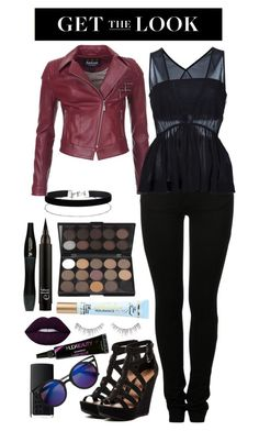 Rocker Style Contest Entry by marymh on Polyvore featuring Chloé, Barbour International, MM6 Maison Margiela, Chinese Laundry, Miss Selfridge, Huda Beauty, Lime Crime, NARS Cosmetics, Lancôme and rockerchic