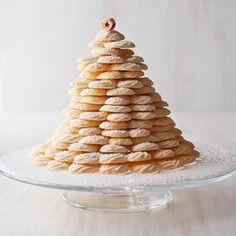 coconut-spritz-cookies-ru235321 Easy Spritz Cookie Recipe, Spritz Cookie Press, Butter Spritz Cookies, Coconut Cookies, Baking Recipes, Cookie Recipes, Powdered Sugar Icing, Kinds Of Cookies, Marshmallow Creme