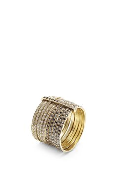 """""""The"""" Ring by Lizzie Mandler for Preorder on Moda Operandi"""