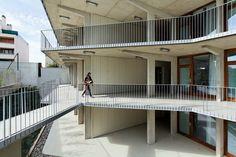 Résidence pour étudiants, Arcueil, Trévelo & Viger-Kohler Architectes Urbanistes - TVK - Realisation