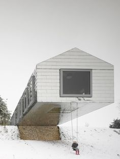 "MVRDV and Mole Architects ""Balancing Barn"" holiday home Suffolk, England Project Year: 2010"