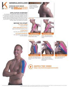 KT Instructions for General Shoulder
