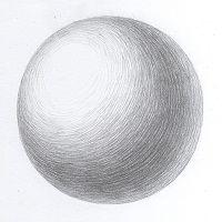 Как научиться ложить штрих по форме предмета- Как научиться нарисовать геометрические фигуры- Как научиться рисовать
