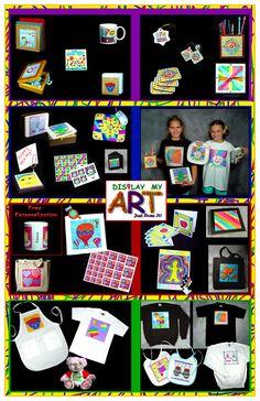 SCHOOL FUNDRAISER - Children's Art Educational Fundraiser
