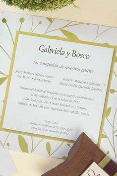 #Bodas #Matrimonio #Novias |¿Qué incluir en las invitaciones? - Novias