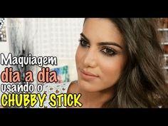 Maravilha: Maquiagem para o dia a dia usando Chubby Stick! Saiba Mais em http://dicasdemaquiagem.vlog.br/maquiagem-para-o-dia-a-dia-usando-chubby-stick/