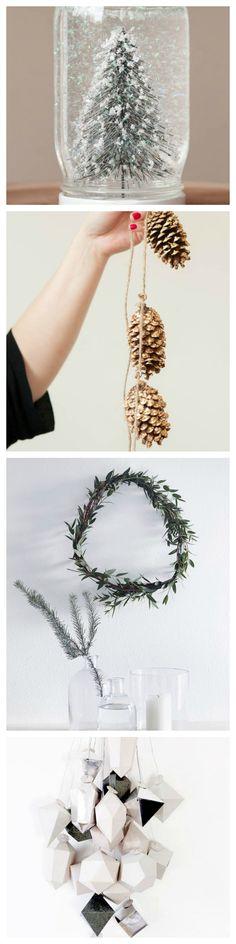 5 DiY Christmas Decorations