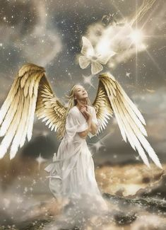 Guardian Angels - Image quotes - Guardian Angel sayings - Guardian Angel poems - Page 5 - Mary Jac Angels Among Us, Angels And Demons, Fantasy Kunst, Fantasy Art, Angel Artwork, Angel Drawing, Angel Quotes, Angel Sayings, Angel Images