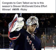 Cam Talbot for Rangers Rangers Hockey, Hockey Goalie, Hockey Teams, Hockey Stuff, Steven Mcdonald, Nhl, National Hockey League, New York Rangers, My Boys