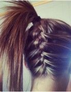 Braid Into Ponytail, Long Hairstyles