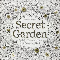 Secret Garden: An Inky Treasure Hunt and Coloring Book by Johanna Basf – BRIARWOOD