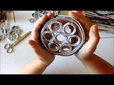 Tutorial riciclo Cestino con carta da giornale - YouTube