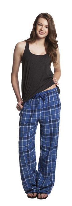 34256bf09 Boxercraft Ladies  Cotton Flannel Pants Sleepwear Loungewear Spiritwear