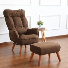 Living Room Chairs, Home Living Room, Living Room Furniture, Home Furniture, Chair And Ottoman, Sofa Chair, Swivel Chair, Couch, Folding Sofa