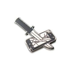 Kill Your God Pin - $10.00  http://www.storenvy.com/products/16133310-kill-your-god-pin