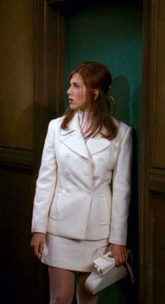 Jennifer Aniston - wearing white pantyhose as Rachel Green on Friends