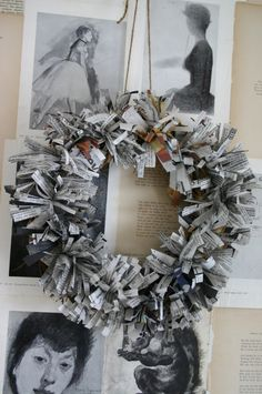 this would be awesome with magazine pages! Page seven lots of great ideas