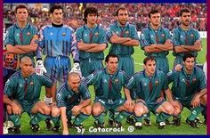 1996-97 Final Recopa (Rotterdam): Barça-PSG 1-0. Popescu, Vitor Baia, Couto, Abelardo, Luis Enrique, Guardiola /// Ronaldo, De la Peña, Sergi, Ferrer i Figo