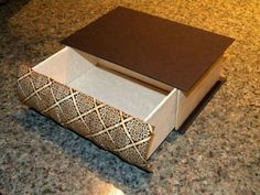 """DIY book drawers tutorial! Click on the photo on the site and then """"source"""" beneath the photo for the tutorial."""
