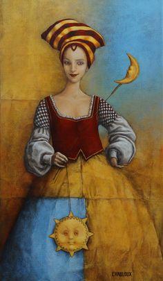 Catherine Chauloux   ACRYLIC   Le Soleil A Rendez