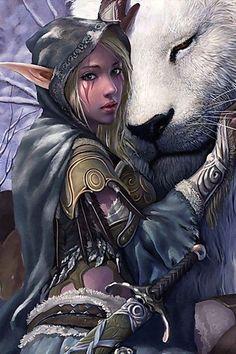 Night elf --night elves certainly influenced the light elf (seelie) design in Ahmbren  http://ift.tt/2I7nP4o