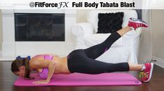 FitForceFX Full Body Tabata Blast workout!  Awesome sculpting and fat burning!