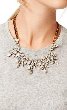 statement necklace // sparkles