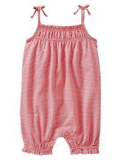 Ruffle striped one-piece | Gap - Baby Girl