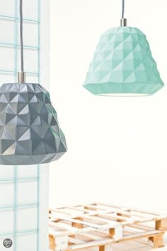 bol.com | Leitmotiv Hanglamp Cast Mini - Mint | Wonen