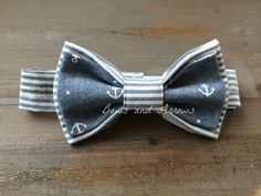How cute is this two toned nautical bow tie?! Go check out this awesome website for kids!!  http://tinybowsandarrows.bigcartel.com/products