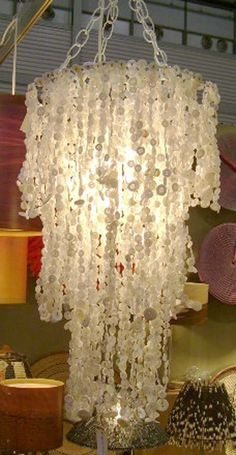 Button Chandelier