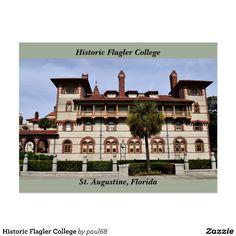Historic Flagler College Postcard