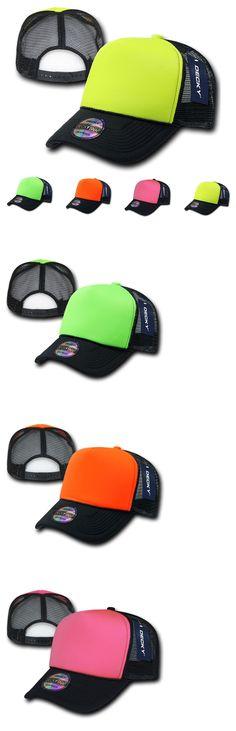 Mens Accessories 45053  1 Dozen Decky Neon Curved Bill Mesh Trucker  Baseball Hats Caps Wholesale 4bb6fd4ad51d