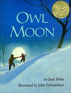My daughter and I love this book about going owling. Such a tender, beautiful story we read this time of year.